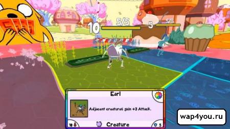 Скриншот Card Wars - Adventure Time