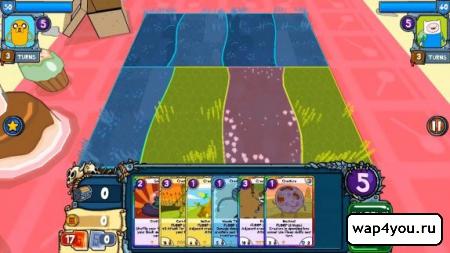 Скриншот Card Wars - Adventure Time на Андроид
