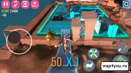 Скриншот Goat Simulator для Android
