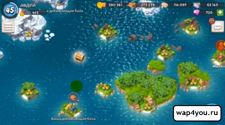 Скриншот Boom Beach для Android