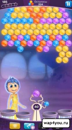 Скриншот Головоломка Шарики за ролики на Андроид