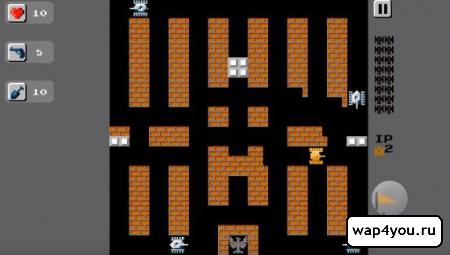 Скриншот Танчики 1990 для Android