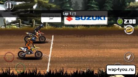 Скриншот Mad Skills Motocross 2 на Андроид