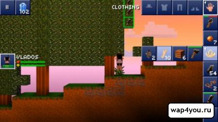 Скриншот The Blockheads на Андроид