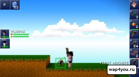 Скриншот игры The Blockheads