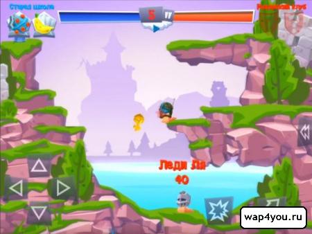 Скриншот Worms 4 на Андроид
