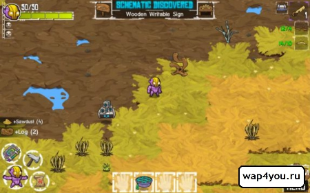 Скриншот Crashlands для Андроид