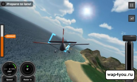 Скриншот Flight Pilot Simulator 3D для Android