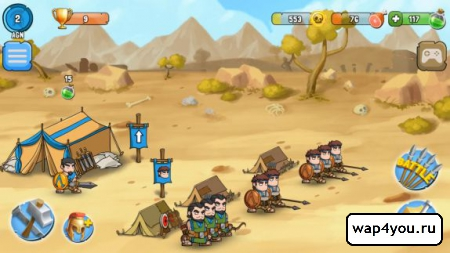 Скриншот Spartania: The Spartan War