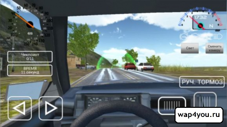 Игра Симулятора вождения ВАЗ 2108