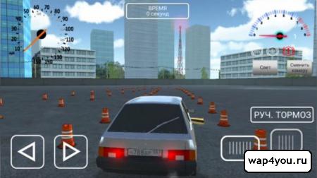 Скриншот Симулятора вождения ВАЗ 2108