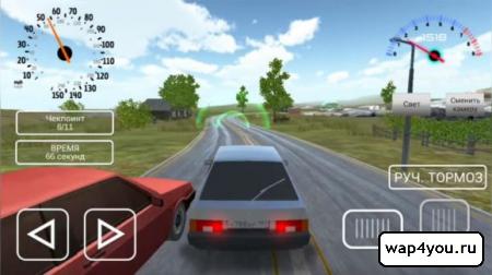 Симулятора вождения ВАЗ 2108 на Андроид
