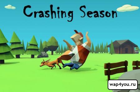 Обложка  Crashing Season