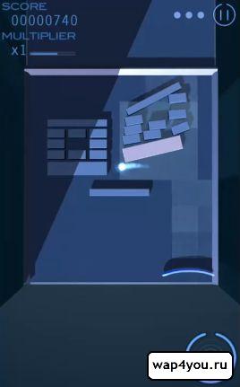 Скриншот Grey Cubes: 3D Brick Breaker для Андроид