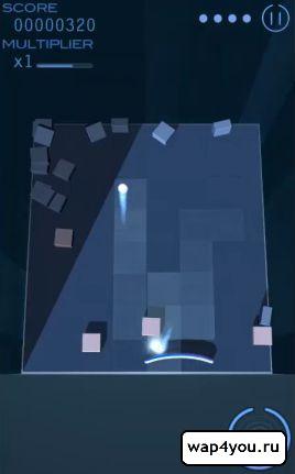 Скриншот Grey Cubes: 3D Brick Breaker