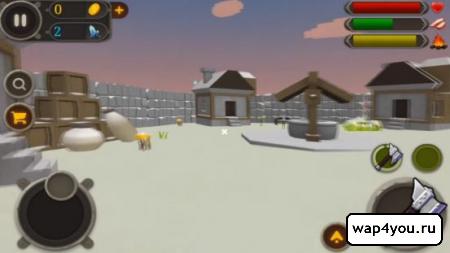 Скриншот Выживание на облачном острове