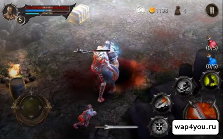 Скриншот BloodWarrior для Android
