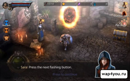 Скриншот BloodWarrior для Андроид