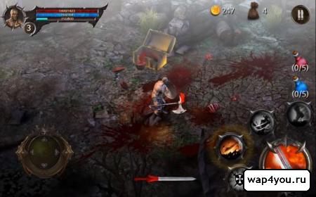 Скриншот BloodWarrior на Андроид