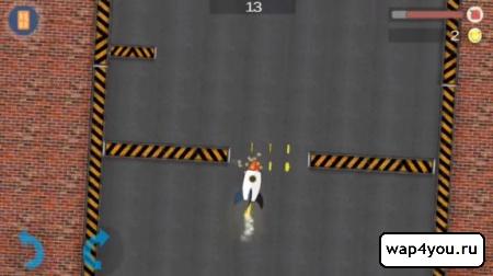 Скриншот Rocket Blast для Android
