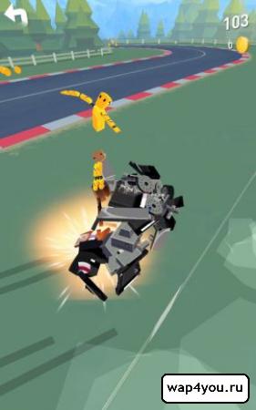 Скриншот Thumb Drift - Furious Racing для Андроид
