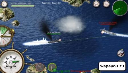 Скриншот Navy Field для Андроид