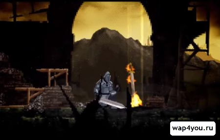 Скриншот Slashy Souls для Android