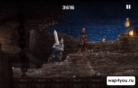 Скриншот Slashy Souls для Андроид