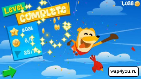 Скриншот Flipper Fox для Android