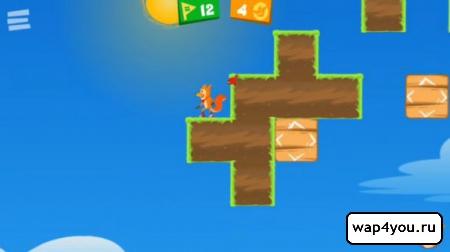 Скриншот Flipper Fox на Андроид