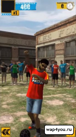 Скриншот Urban Soccer Challenge для Андроид
