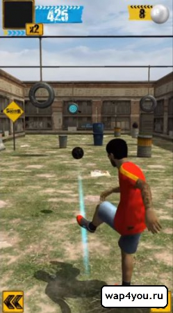 Скриншот Urban Soccer Challenge