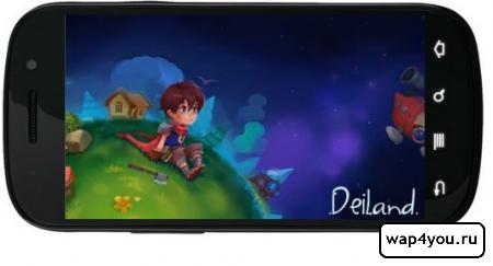 Обложка игры Deiland
