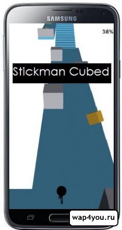 Обложка Stickman Cubed