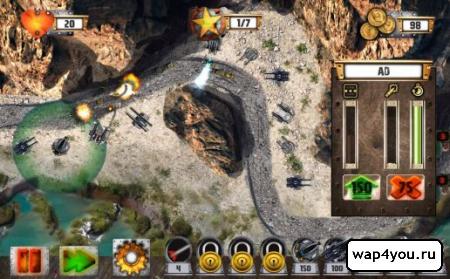 Tower Defense: Tank WAR на Андроид