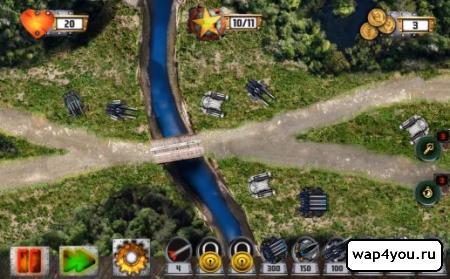 Скриншот Tower Defense: Tank WAR