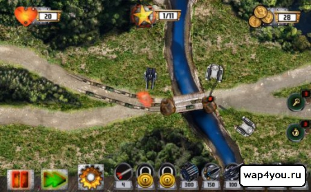 Скриншот Tower Defense: Tank WAR на Андроид