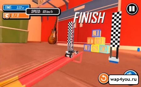 Скриншот Hot Wheels Track Builder для Android