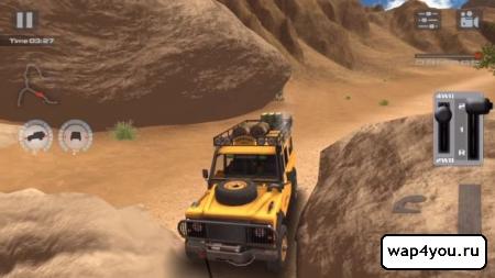 Скриншот OffRoad Drive Desert на Андроид