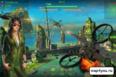 Боевые вертолеты онлайн для Android