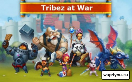 Tribez at War на Андроид