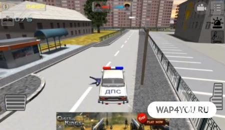 Симулятор русского гаишника 3D для Android