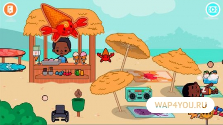 Игра Toca Life: Vacation