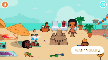 Toca Life: Vacation на Андроид