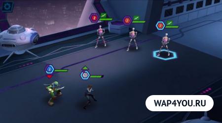 Черепашки-Ниндзя: Легенды для Android
