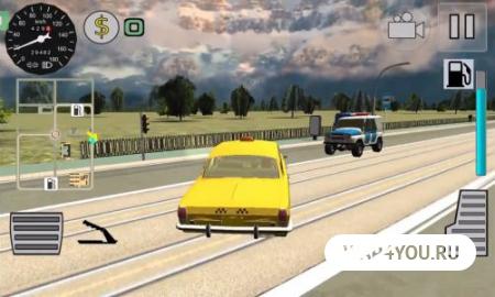 Игра симулятор Русского Такси 3D на Андроид