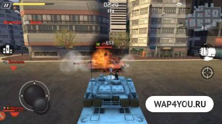 Tank Strike на Андроид