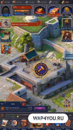Скачать Throne: Kingdom at War на Андроид