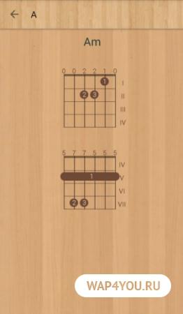 Приложение Песни под гитару