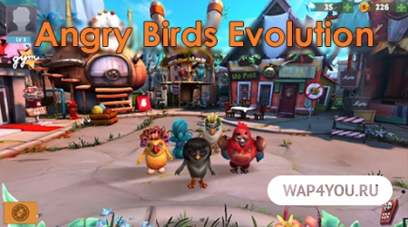 Angry Birds Evolution для Android